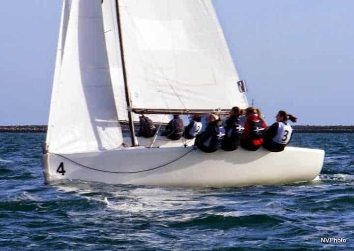 Photo of yacht sailing