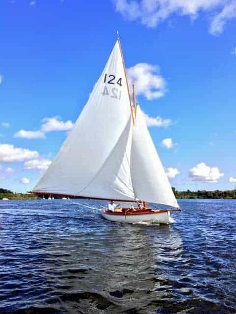 Photo of yacht sailing - for O&CSS Wroxham Match 2017