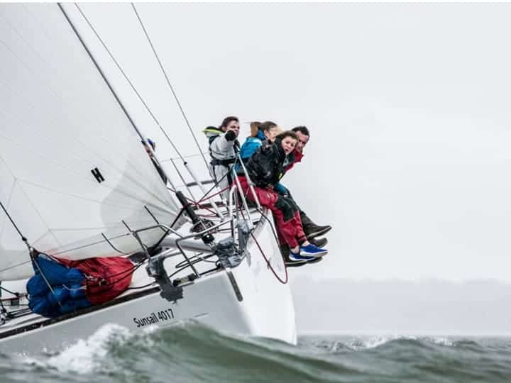 Photo of Oxford sailing for Yachting Varsity