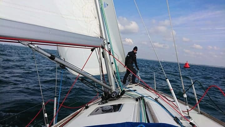 Boat sailing photo for Yachting Varsity 2019