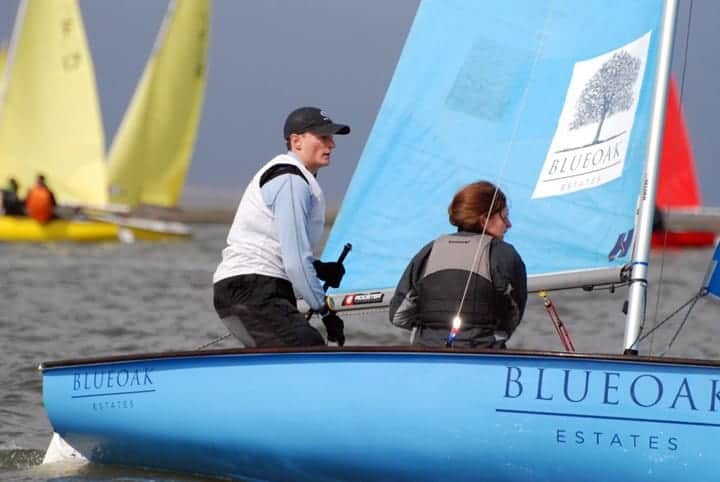 Dinghy sailing for Wilson 70 Trophy 2019
